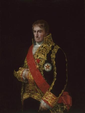Portrait of General José Manuel Romero, C.1810 by Francisco de Goya