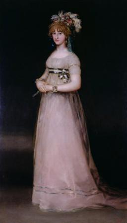 Portrait of Maria Theresa De Bourbon Y Vallabriga, the Condesa De Chinchon, 1801 by Francisco de Goya