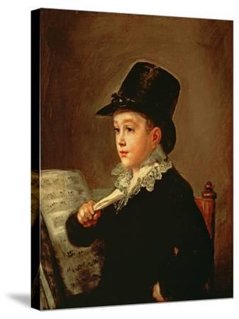 Portrait of Marianito Goya, Grandson of the Artist, circa 1815