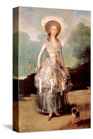 Portrait of Marquesa De Pontejos Y Sandoval, Herzogin Von Pontejos by Francisco de Goya