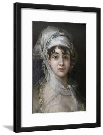 Portrait of the Actress Antonia Zarate, C1810-C1811