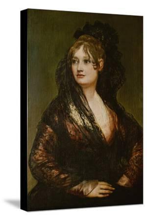 Portrait of the Wife of Juan Cean Bermudez