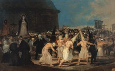 Procession of Penitents by Francisco de Goya