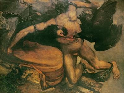 Prometheus by Francisco de Goya