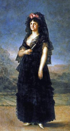 Queen Maria Luisa by Francisco de Goya