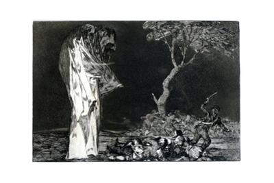 Riddle of Fear, 1819-1823 by Francisco de Goya