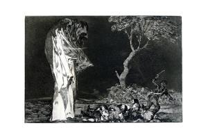 Riddle of Fear, 1819-1823 by Francisco de Goya