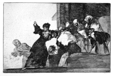 Riddle of the Poor, 1819-1823 by Francisco de Goya