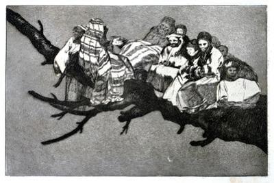 Ridiculous Dream, 1819-1823 by Francisco de Goya
