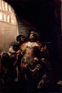 Saint Hermenegild in Prision by Francisco de Goya