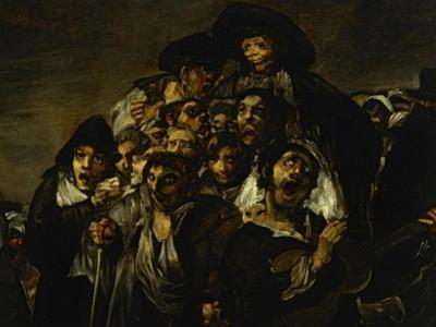 Saint Isidore's Day, Detail by Francisco de Goya