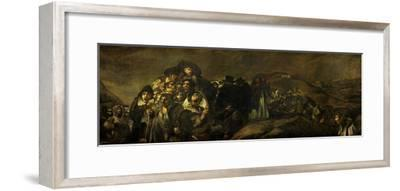 Saint Isidore's Day, on of the Black Paintings from the Quinta Del Sordo, Goya' House, 1819-1823 by Francisco de Goya