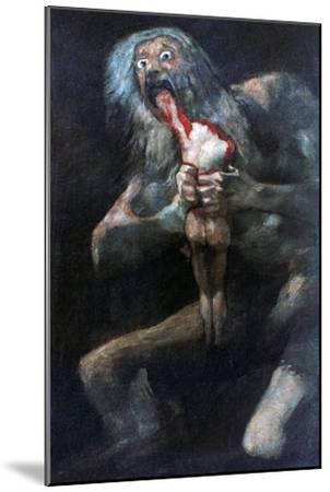 Saturn Devouring One of His Children, 1821-1823 by Francisco de Goya
