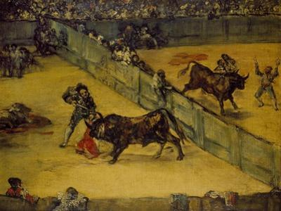 Scene at a Bullfight: the Divided Ring, 18th Century by Francisco de Goya