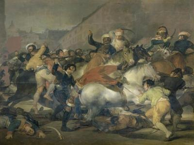 Second of May, 1808 by Francisco de Goya