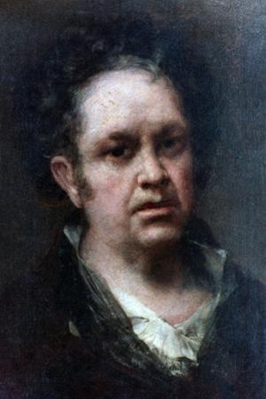 Self Portrait, 1815 by Francisco de Goya
