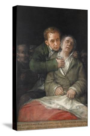 Self-Portrait with Dr. Arrieta, 1820 by Francisco de Goya