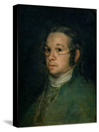 Self-Portrait with Glasses by Francisco de Goya
