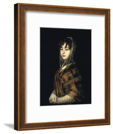 Senora Sabasa Garcia by Francisco de Goya