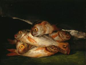 Still Life With Golden Bream by Francisco de Goya