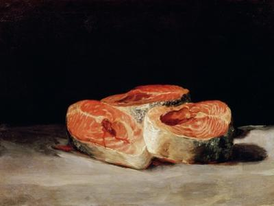 Still Life with Slices of Salmon, 1808-12 by Francisco de Goya