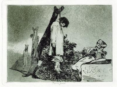 Tampoco (Nor Thi), Plate 36 from the Disasters of War (Los Desastros De La Guerr), 1810-1820 by Francisco de Goya