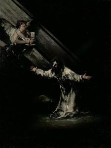 The Agony in the Garden by Francisco de Goya