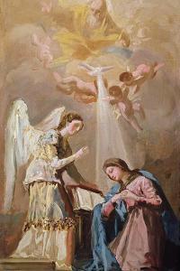 The Annunciation (Oil) by Francisco de Goya