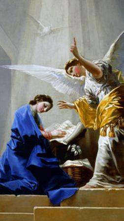 The Annunciation by Francisco de Goya