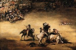 The Bullfight by Francisco de Goya