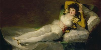 The Clothed Maja, 1800-07 by Francisco de Goya