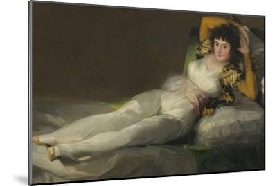 The Clothed Maja, C. 1800 by Francisco de Goya