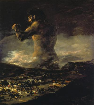 The Colossus, 1808/1812 by Francisco de Goya