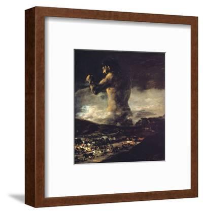 The Colossus, circa 1808 by Francisco de Goya