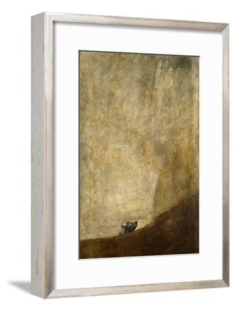 The Dog, 1820-23 by Francisco de Goya