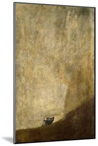 The Dog by Francisco de Goya
