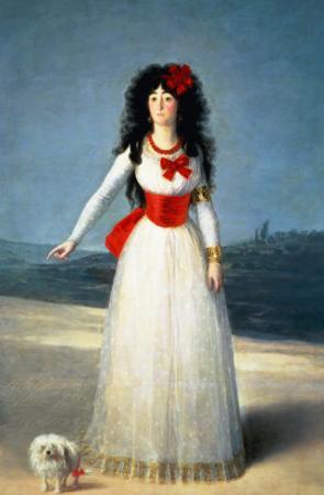 The Duchess of Alba, 1795 by Francisco de Goya