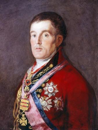 The Duke of Wellington, 1812-1814 by Francisco de Goya