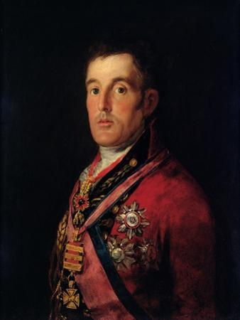 The Duke of Wellington by Francisco de Goya