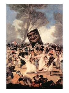 The Funeral of Sardina by Francisco de Goya