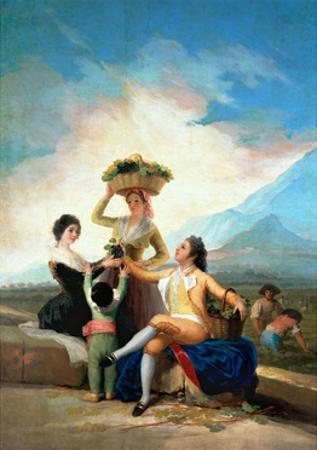 The Grape Harvest or Autumn, 1786 by Francisco de Goya