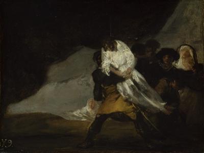 The Hanged Monk, C.1810 by Francisco de Goya
