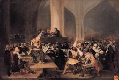 The Inquisition Tribunal by Francisco de Goya
