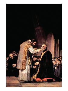 The Last Communion of St. Joseph of Calasanza by Francisco de Goya