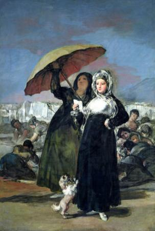 The Letter Or, the Young Women, circa 1814-19 by Francisco de Goya