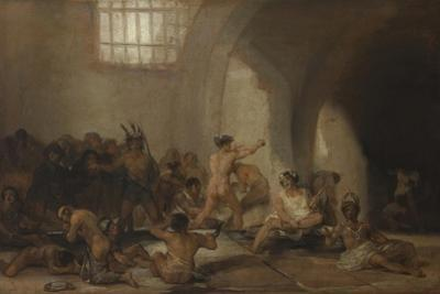 The Madhouse by Francisco de Goya