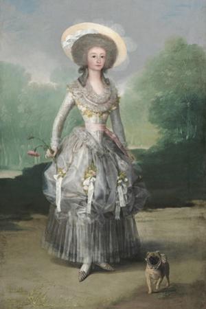 The Marquesa De Pontejos, C. 1786 by Francisco de Goya