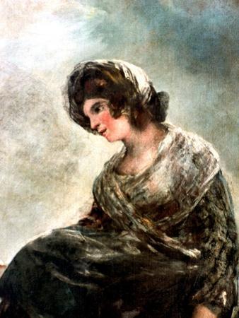 The Milkmaid of Bordeaux, C1824 by Francisco de Goya