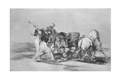 The Moors Who Had Settled in Spain by Francisco de Goya
