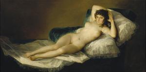 The Naked Maja, 1798-1803 by Francisco de Goya